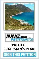 Please click here to sign the Chapman's Peak Petition